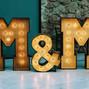La boda de Melody Espín y Bcn Letters 10