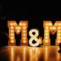 La boda de Melody Espín y Bcn Letters 11