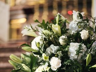 Un Patio con flores 3
