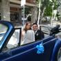 La boda de Eva Maria Rolle Fernandez y Coche de Boda Madrid 1