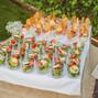 La boda de Cesar Ortiz y Vintia Catering 17