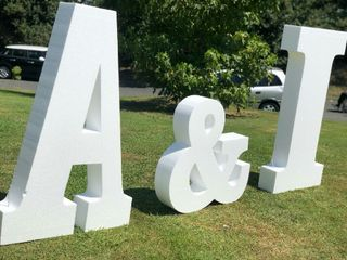 Letras para bodas MR 2