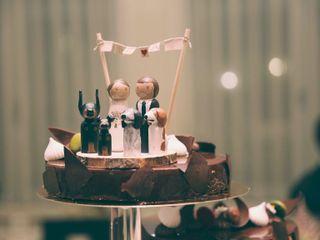 Miss Camomila - Figuras para la tarta 1