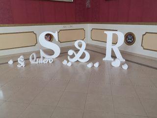 Letras y bodas - Letras decorativas 3