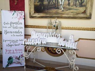 Letras y bodas - Letras decorativas 4