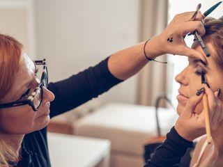 Sandra Morte Make up 1