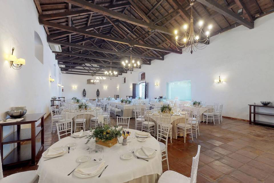 Hacienda El Cortijuelo - El Candil Catering 3d tour