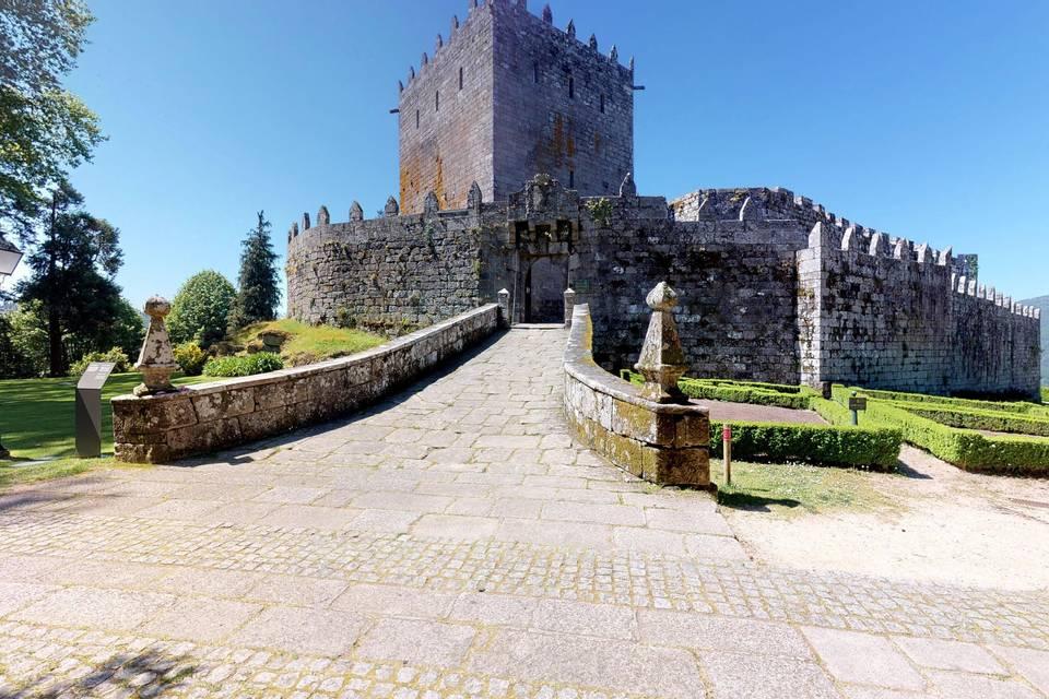 Hotel Pousada del Castillo de Soutomaior 3d tour