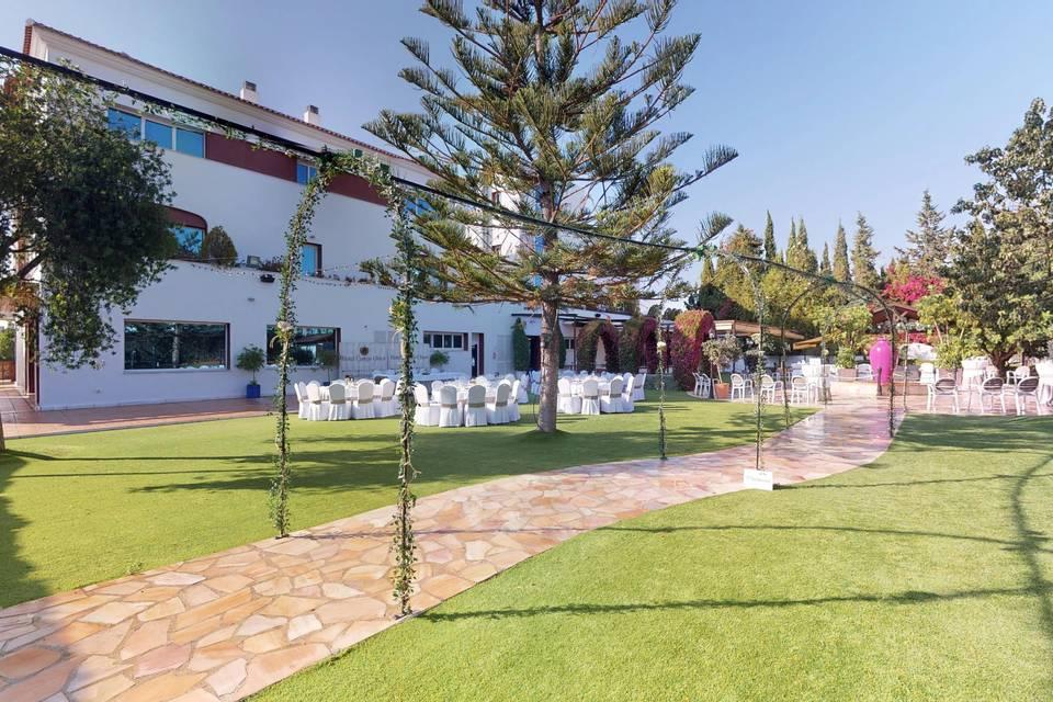 Hotel Cortijo Chico 3d tour