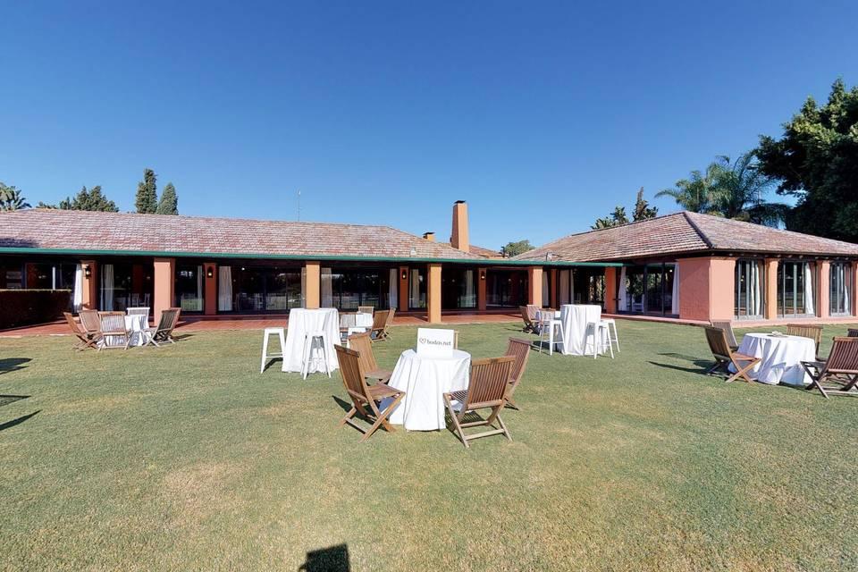 Real Club Sevilla Golf - Catering ACS 3d tour