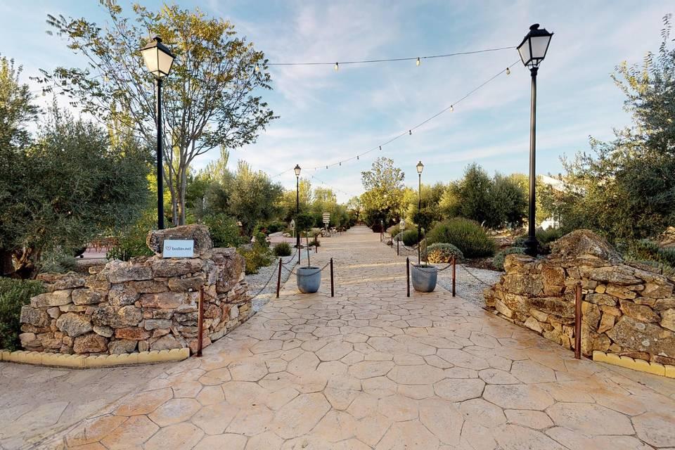 Jardín Casa Rosita 3d tour