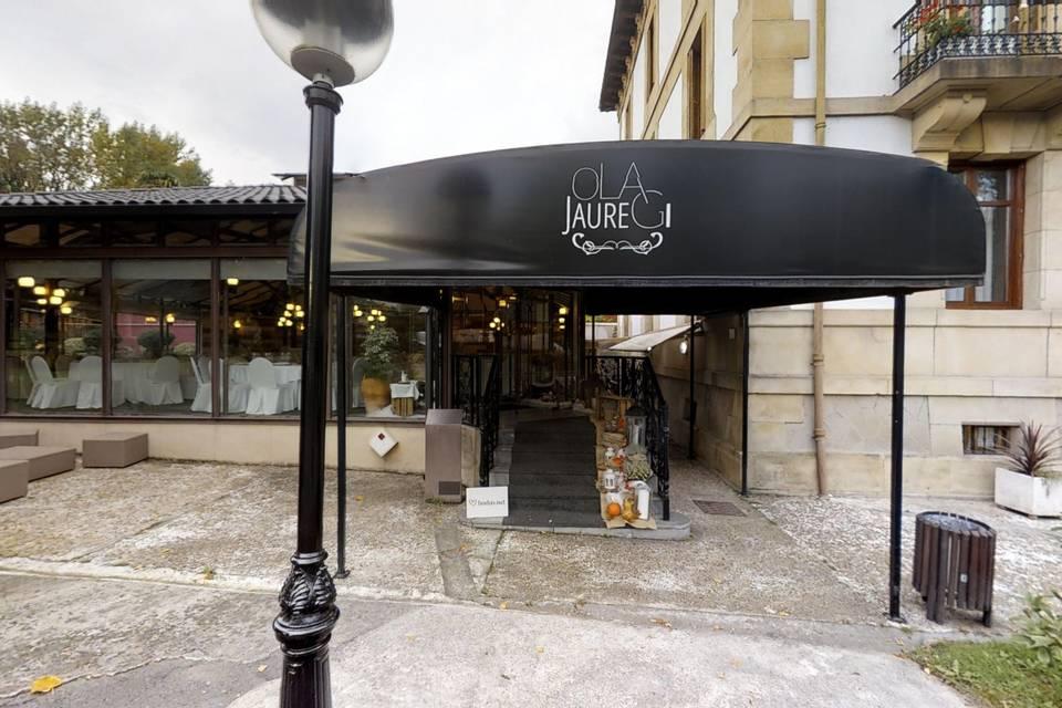 Hotel Restaurante Olajauregi 3d tour