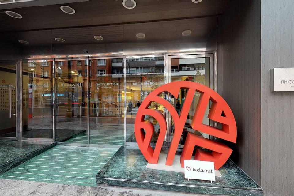 NH Collection Villa de Bilbao 3d tour