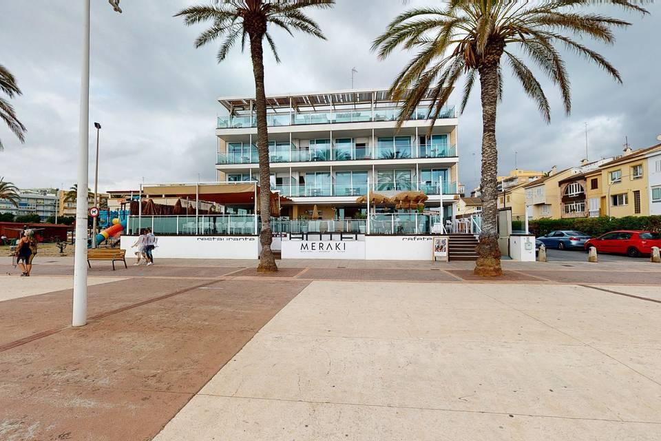 Meraki Beach Hotel 3d tour