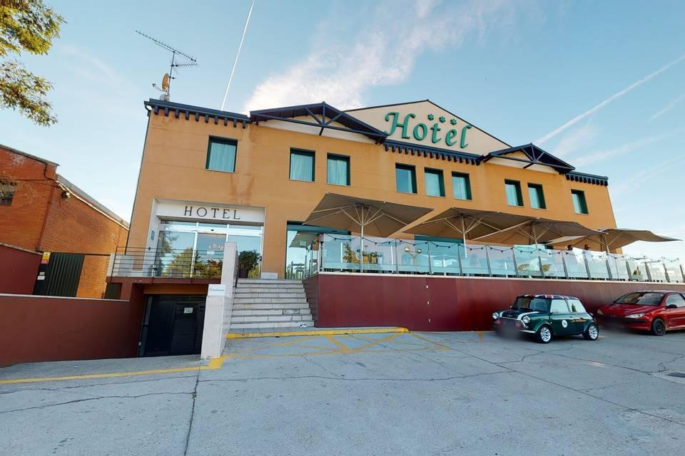 Hotel Villa de Ferias 3d tour