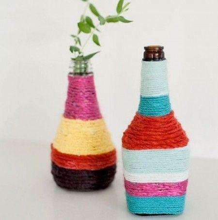 Botellas decoradas manualidades foro - Botellas decoradas manualidades ...