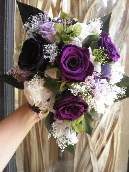 60 ramos de novia en lila, morado, púrpura y violeta! 1