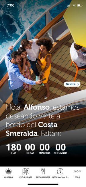 Crucero Costa Smeralda! 1