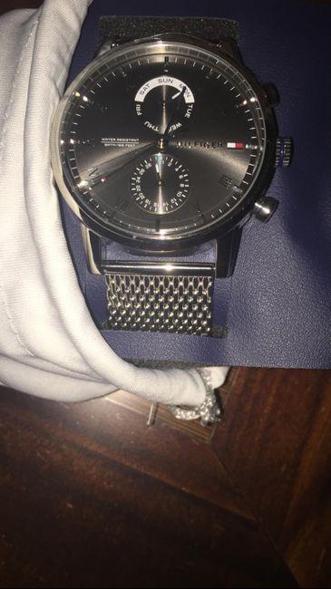 Reloj chico compromiso 1