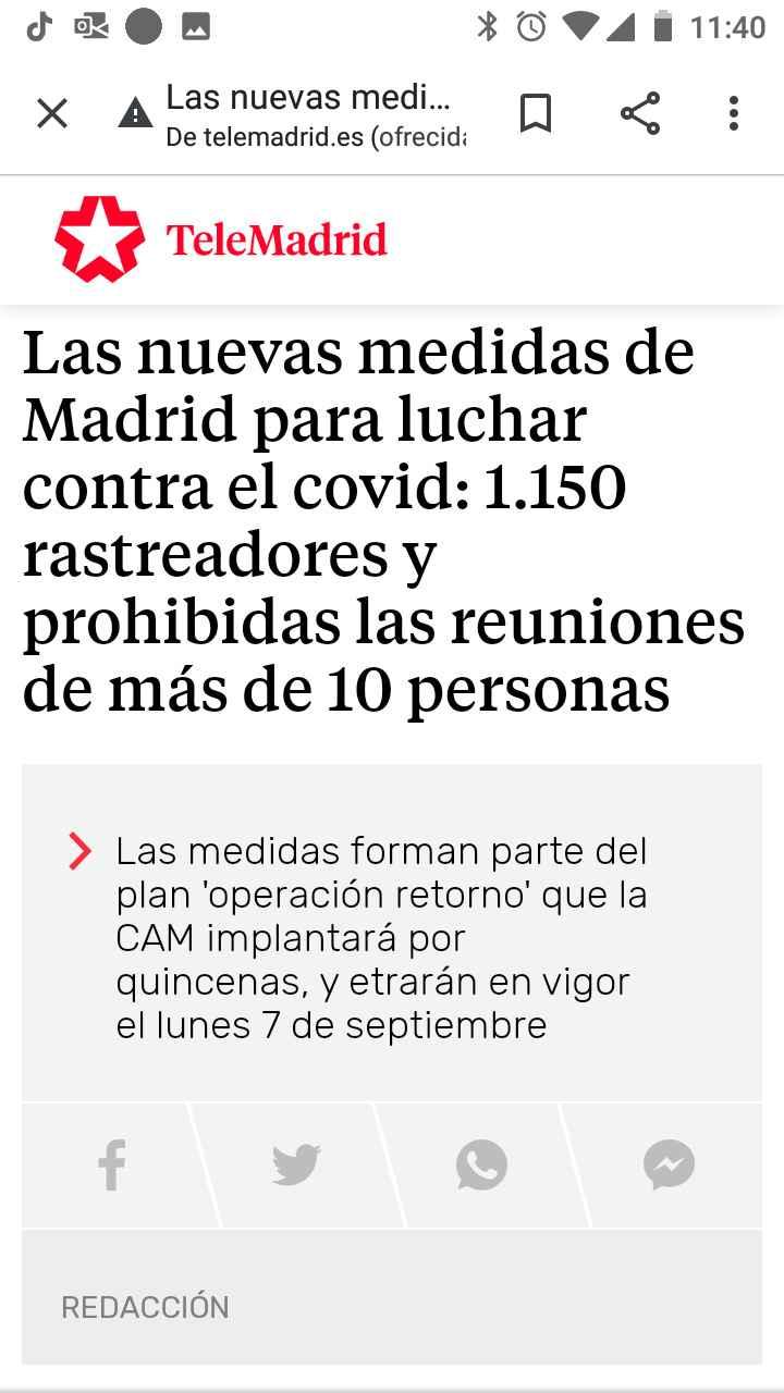 Restricciones Madrid 3