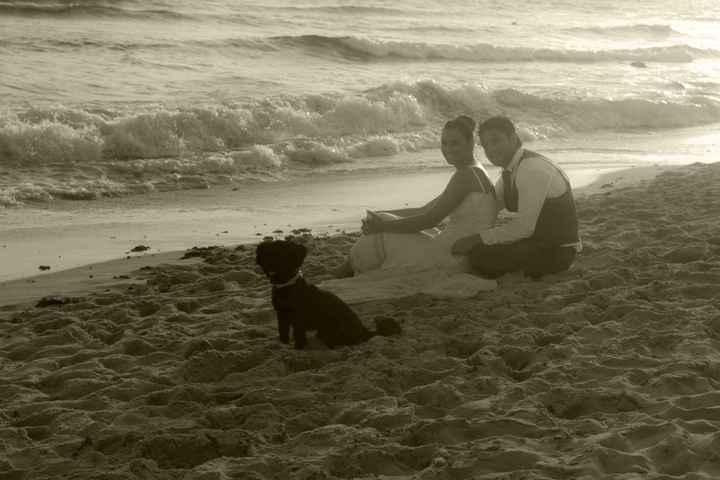 Nosotros y nuestro perrito