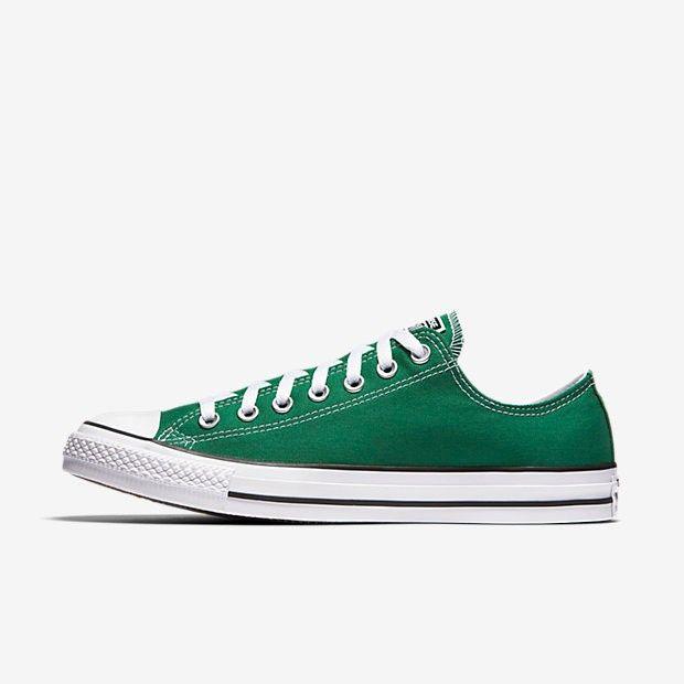 zapatillas converse verdes :)