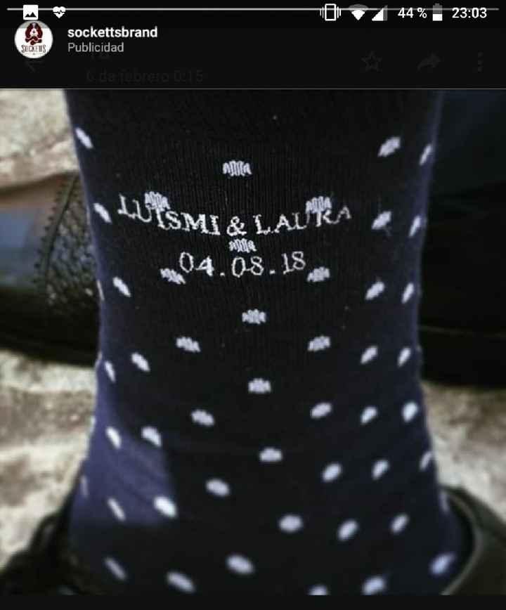 Calcetines para el novio 🤵 - 1
