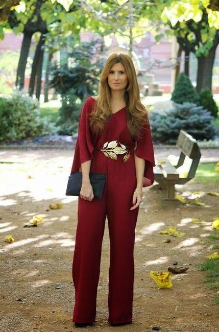 bf9335c4c5a5 Invitadas en pantalón o mono de fiesta - Moda nupcial - Foro Bodas.net