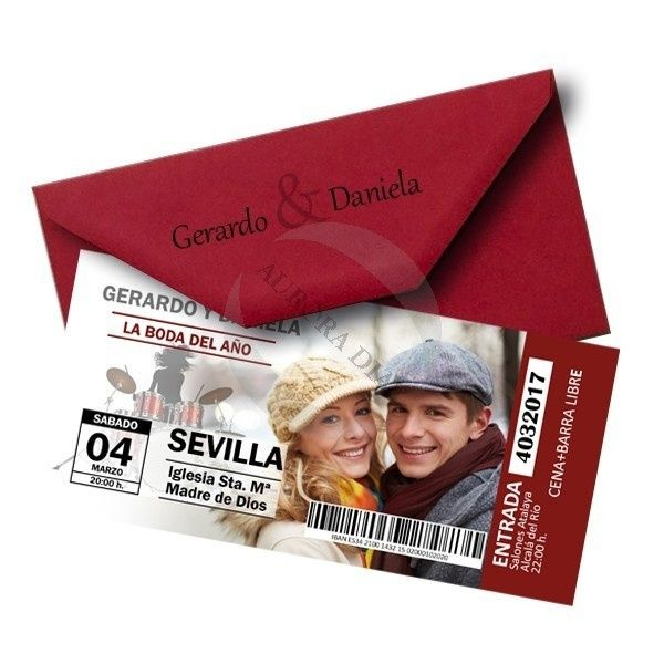 Convites de casamento originais! 1