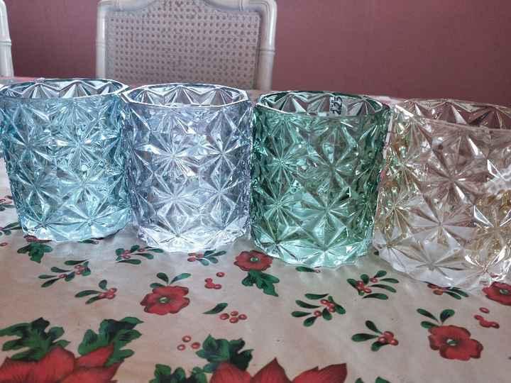 Velas para decorar las mesas del banquete: ¿Sí o no? 😊 - 1