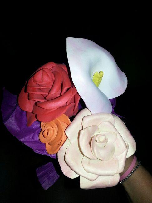 Plantillas para hacer flores goma eva Manualidades Foro Bodasnet