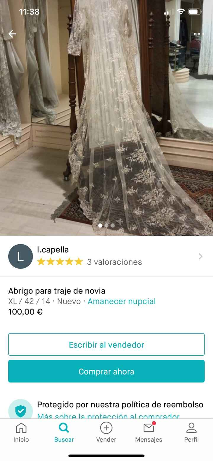 Chaqueta de novia verano - 1