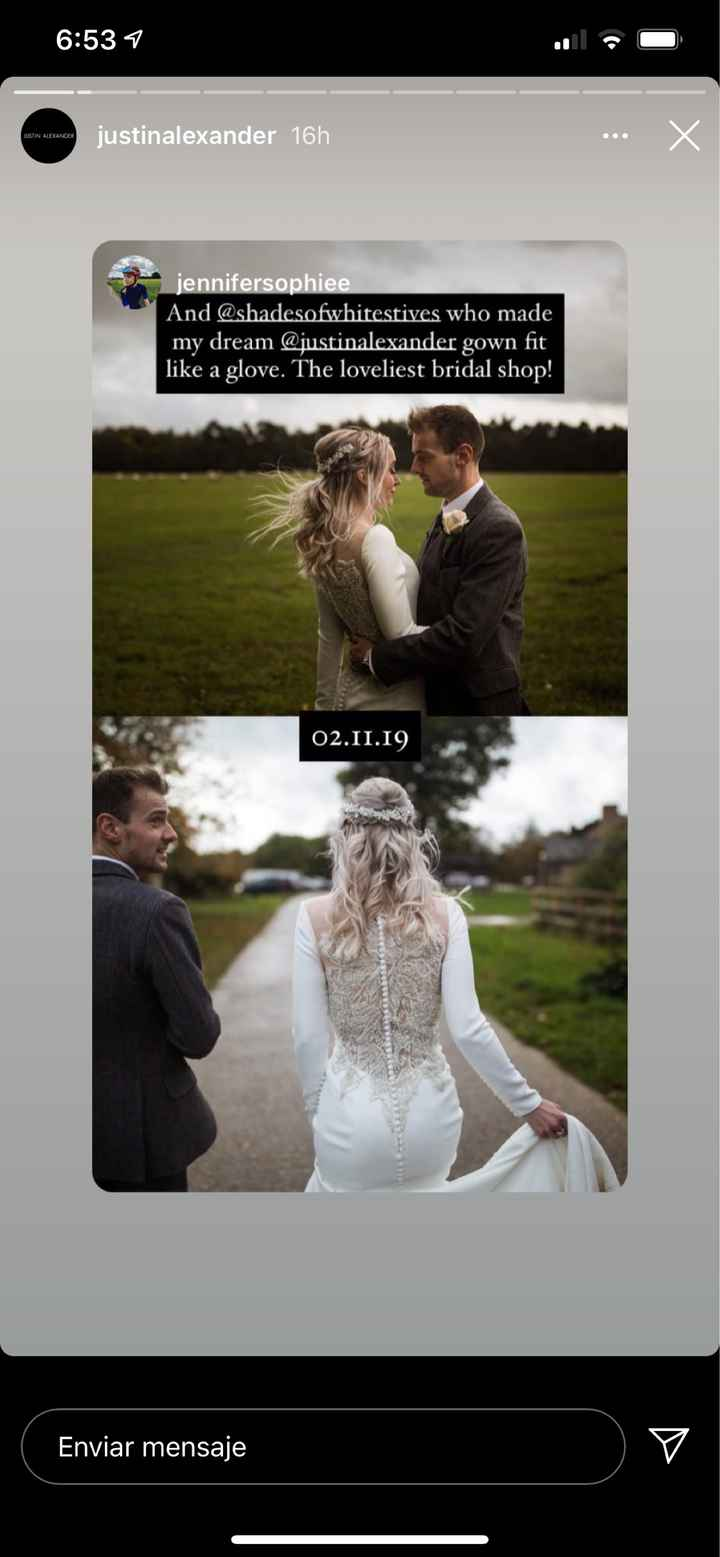 Vestido de novia de películas - 1