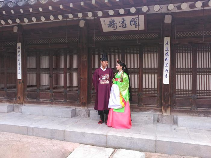 Mi boda tradicional en Seul.corea del Sur. 2