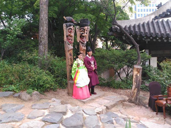 Mi boda tradicional en Seul.corea del Sur. 9