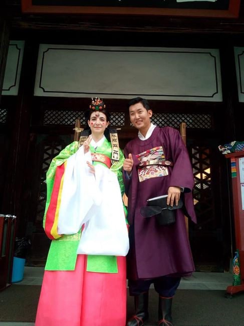 Mi boda tradicional en Seul.corea del Sur. 10