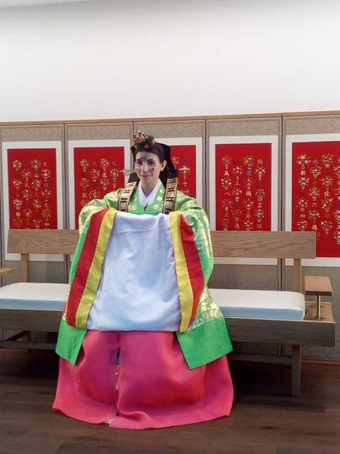 Mi boda tradicional en Seul.corea del Sur. 20