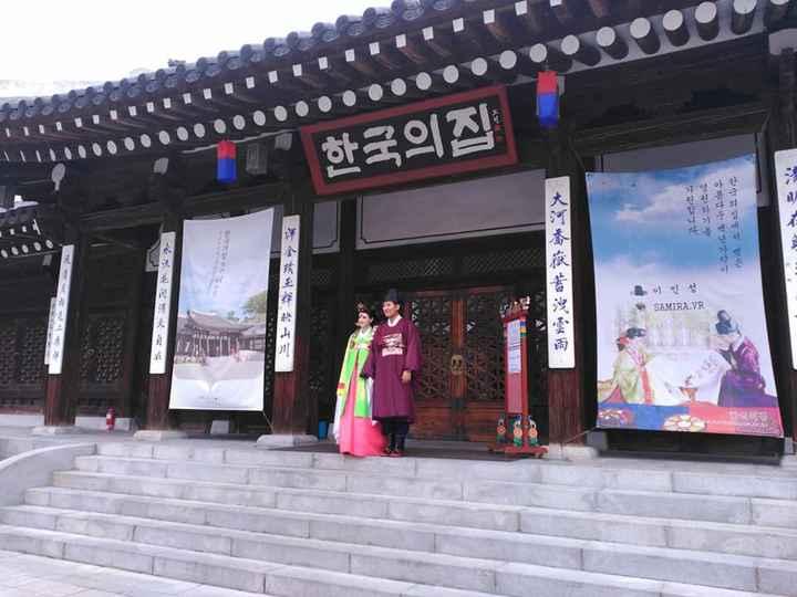 En la puerta del Templo