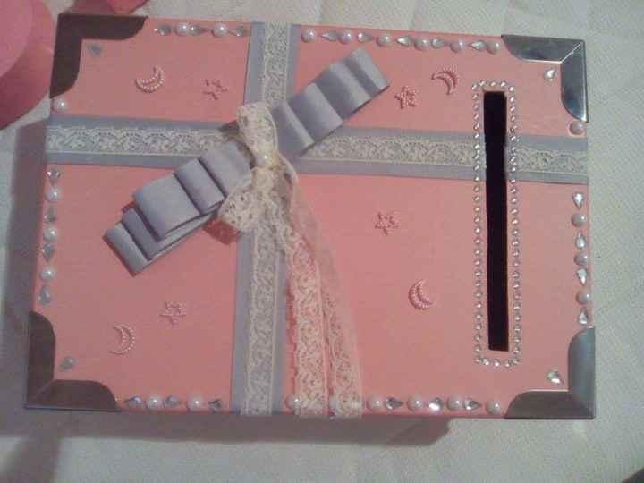 caja de sobres