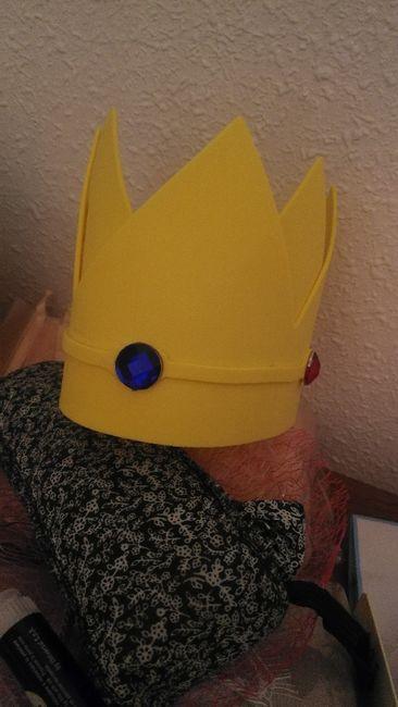 Nuestro photocall Mario bros Diy 20