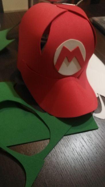 Nuestro photocall Mario bros Diy 21