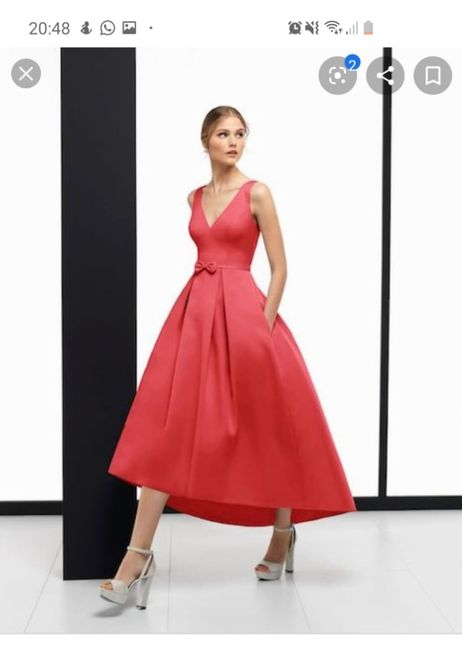 ¿ De donde es este vestido ? - 1