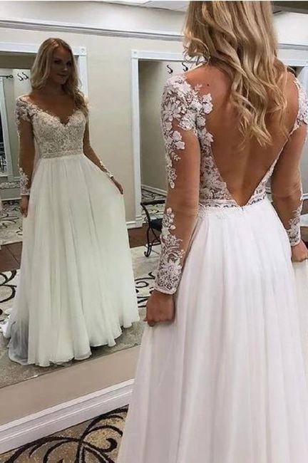 Segundo vestido de novia 7