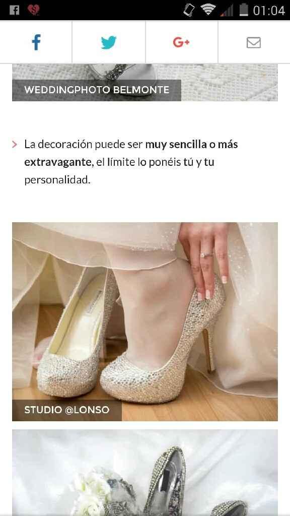 Los zapatos de mi sueño... - 1