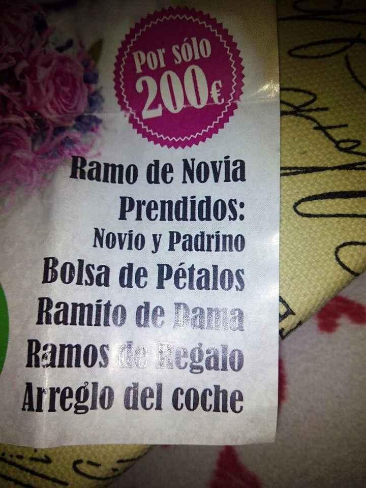 Me piden 1000 euros por las flores!!! - 1
