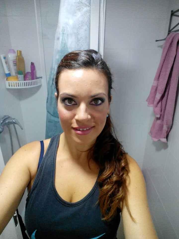 Prueba maquillaje y peinado!!! - 1