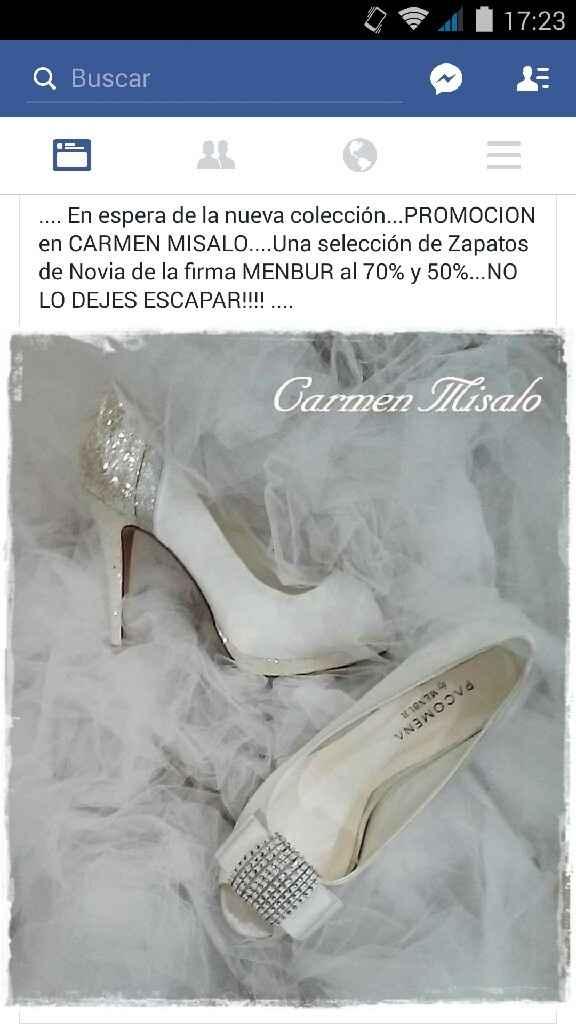 Oferton zapatos membur novias!!!! - 1