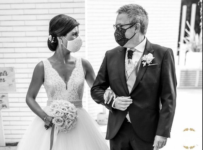 Finalmente casados en los tiempos de Covid!! 16