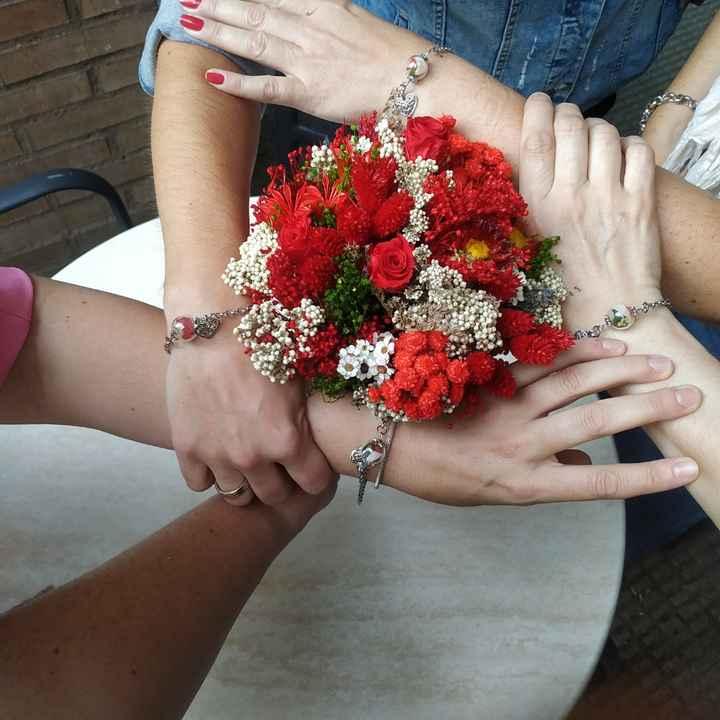 Pulseras damas honor - 1