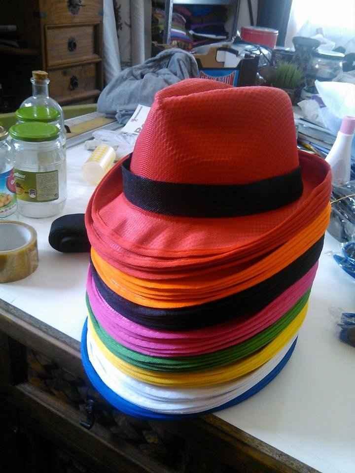 Los sombreros para mis invitados